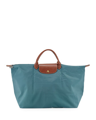 Le Pliage Travel Tote Bag, Mint