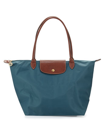 Le Pliage Large Shoulder Tote Bag, Mint