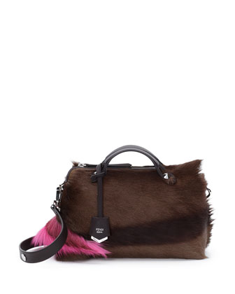 By The Way Small Fur Satchel Bag