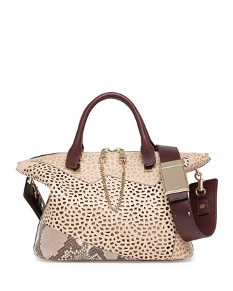 Baylee Patchwork Medium Shoulder Bag