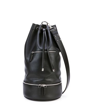 Secchiello Sport Shoulder Bag, Black