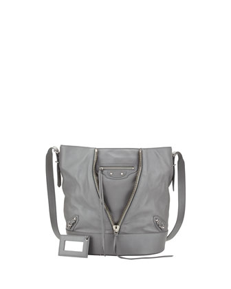 Papier Drop Bucket Bag, Gray
