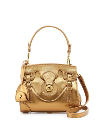 Soft Ricky 18 Mini Crossbody Bag, Bronze