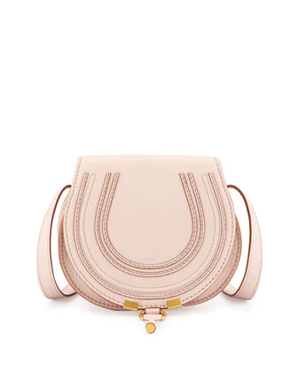 Marcie Small Crossbody Bag, Nude Pink