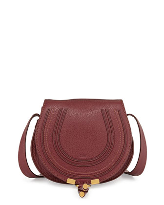 Marcie Small Satchel Bag, Purple