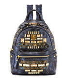 Stark Edeline Mini Backpack, Blue