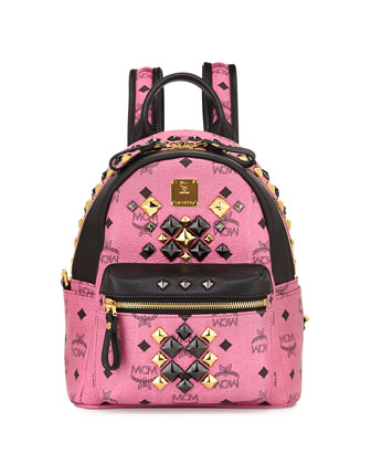 Stark Brock Mini Backpack, Pink