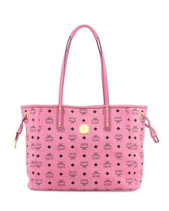 Shopper Project Reversible Logo-Print Shopper Bag, Pink/Jaguar Gray