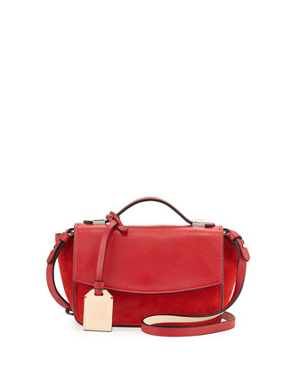 Anarchy Micro Crossbody Bag, Red