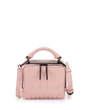Ryder Small Zip Crossbody Bag, Bubblegum