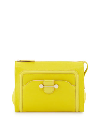 Daphne 2 Clutch Bag, Citron
