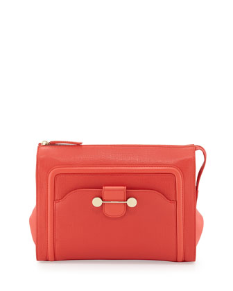 Daphne 2 Clutch Bag, Coral