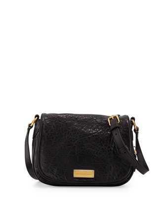 Washed Up Natasha Mini Crossbody Bag, Black Multi