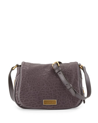Washed Up Natasha Mini Crossbody Bag, Faded Aluminum