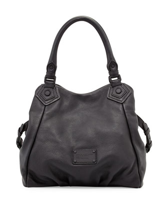 Electro Q Fran Shoulder Bag, Black