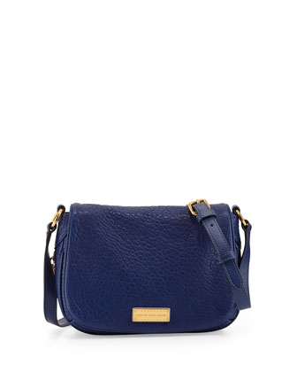 Washed Up Natasha Mini Crossbody Bag, Blue Depths