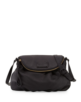 Electro Q Natasha Crossbody Bag, Black