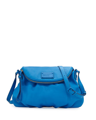 Electro Q Natasha Crossbody Bag, Electric Blue