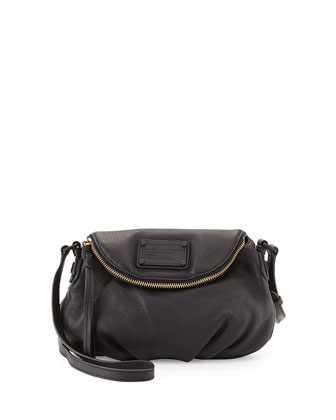 Electro Q Mini Natasha Crossbody Bag, Black