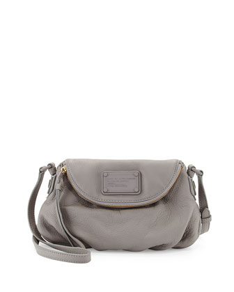 Electro Q Mini Natasha Crossbody Bag, Cylinder Gray