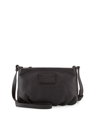 Electro Q Percy Crossbody Bag, Black