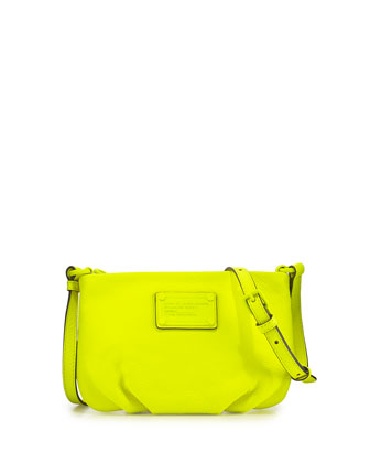 Electro Q Percy Crossbody Bag, Safety Yellow