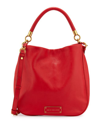 Too Hot to Handle Hobo Bag, Cambridge Red