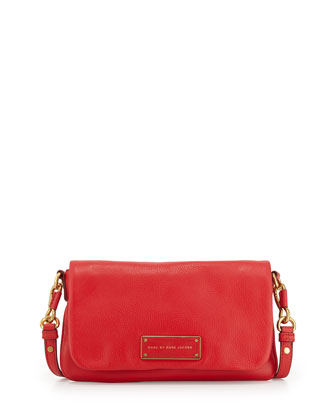 Too Hot to Handle Percy Crossbody Bag, Cambridge Red