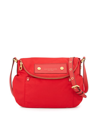 Preppy Nylon Natasha Crossbody Bag, Cambridge Red