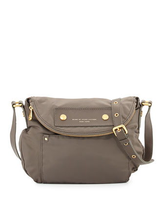 Preppy Nylon Natasha Crossbody Bag, Dirty Martini