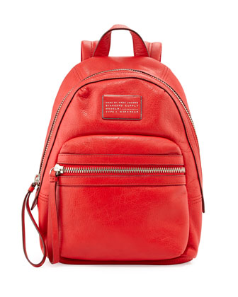 Third Rail Leather Backpack, Cambridge Red