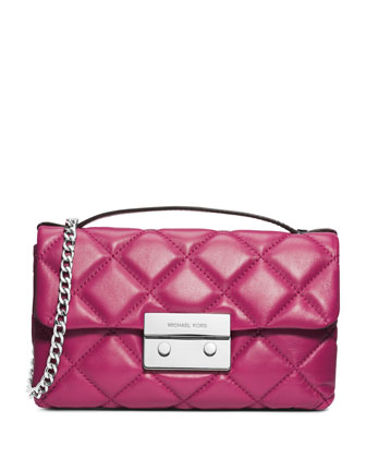 Small Sloan Quilted Messenger