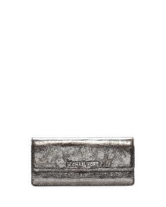 Jet Set Travel Flap Wallet