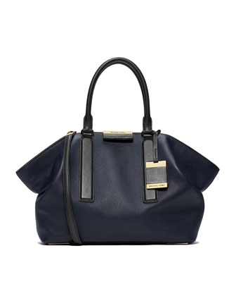 Large Lexi Pebbled Satchel