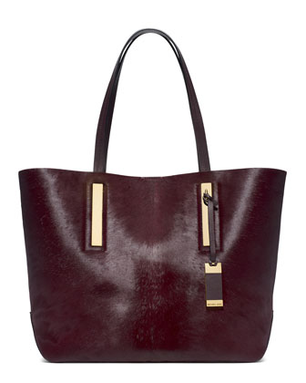 Large Jaryn Calf Hair Tote