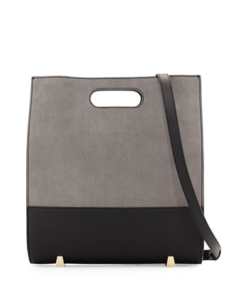 Chastity Soft Suede Tote Bag