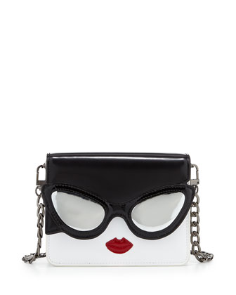 Stacy Face Mini Clee Shoulder Bag