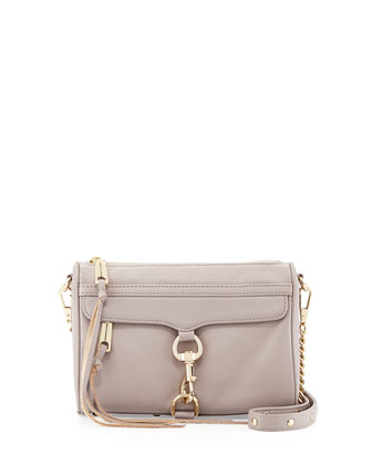 Mini MAC Crossbody Bag, Tortora