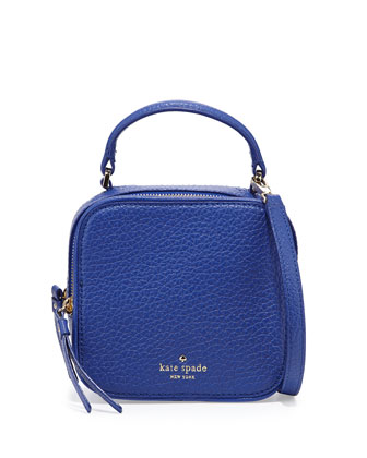 cecil court bobi satchel bag, emperor blue