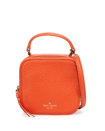 cecil court bobi satchel bag, cyber orange