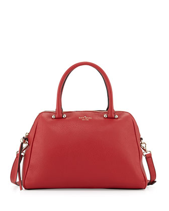 charles street brantley tote bag, dynasty red