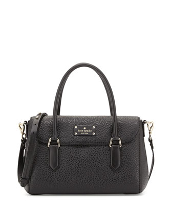grove court leslie small tote bag, black