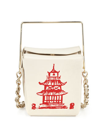 hello shanghai cruz takeout container shoulder bag