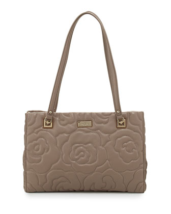 sedgwick lane small rose phoebe shoulder bag, warm putty