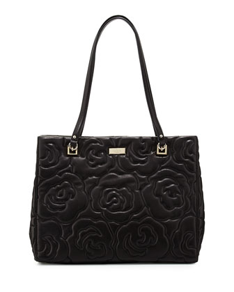 sedgwick lane rose phoebe tote bag, black
