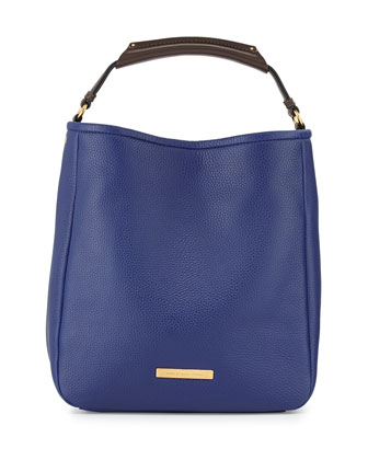 Softy Saddle Large Hobo Bag, Ultra Blue