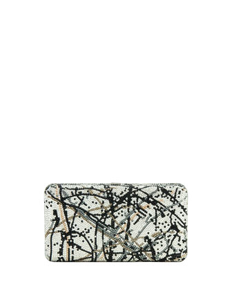 Airstream Crystal Splatter Clutch Bag
