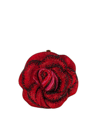 New Rose Crystal Minaudiere, Siam Multi