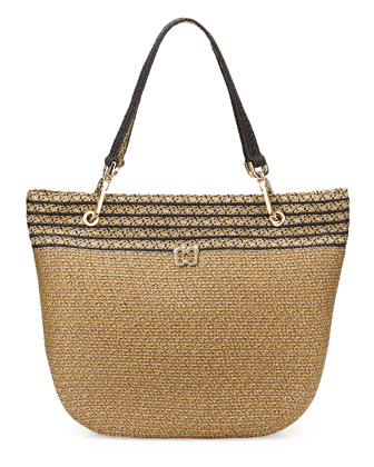 Squishee Clip II Tote Bag, Sulfate/Black