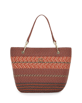 Squishee Clip II Tote Bag, Tuscan